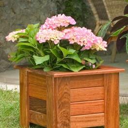 Tipos de macetas - Maceteros de madera para exterior ...