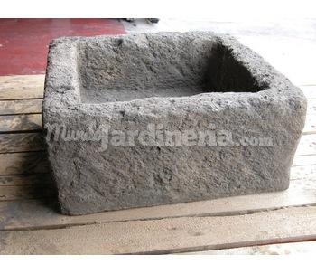 Maceteros de piedra - Macetas de piedra para jardin ...