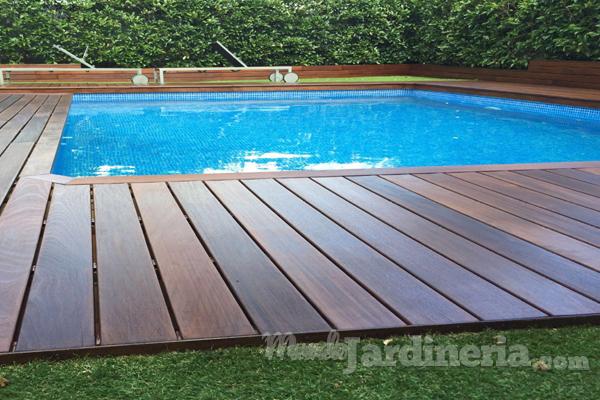 Mantenimiento suelos de madera exteriores