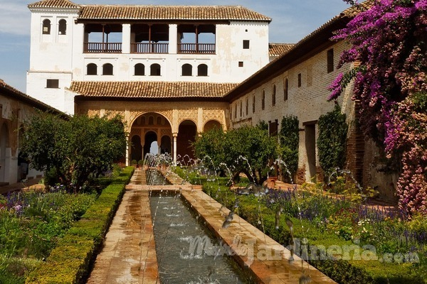 El jardín andalusí, clase y estilo
