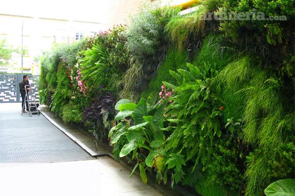 Qu procesos de irrigaci n existen para un jard n for Que es un jardin vertical