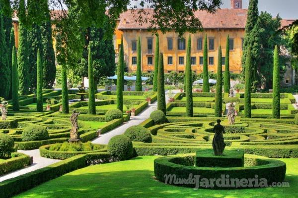 La geometría perfecta del jardín italiano