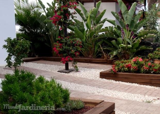 Fotos de jardines particulares ideas de disenos for Jardines 7 islas