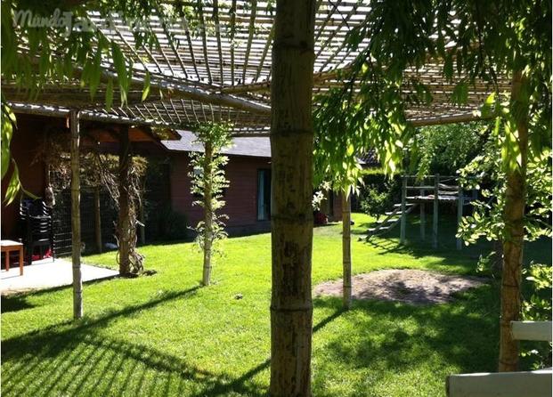 Pergolas hechas con ca as image - Pergolas de bambu ...