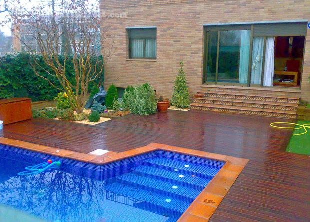 Im genes de jardineria soriano for Barbacoa y piscina madrid