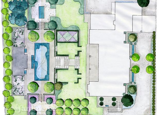 Im genes de adarve jardines y paisajismo for Planos de jardines