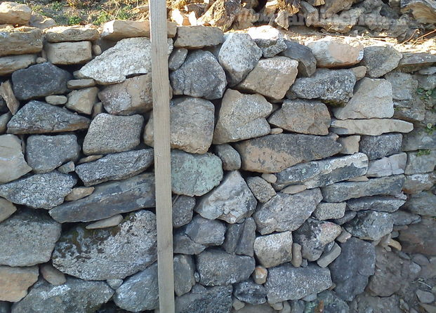 Pared de piedra