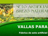 Vallas Para Jardin, Seto Artificial Madrid Y Brezo Madrid