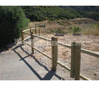 Vallas y cercados de madera tratada cat logo for Cercados jardin