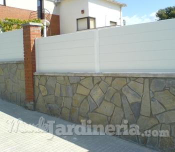 Vallas de pvc cat logo - Vallas jardin pvc ...